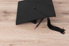 Chapeau gradué Photographie stock