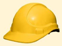 Chapeau jaune Images stock