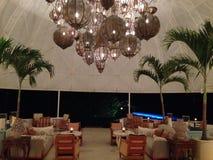 Chapeau Juluca Anguilla d'hôtel photos stock