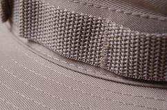 Chapeau kaki de Brown Boonie Image stock