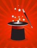 Chapeau magique   Images libres de droits