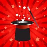 Chapeau magique   illustration stock