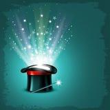 Chapeau magique illustration de vecteur