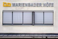 Chapeau mou du mauvais de Marienbader Hoefe Photo stock