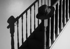 Chapeau noir Photo stock