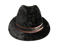 Chapeau noir Photo libre de droits