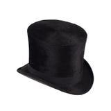 Chapeau noir Photographie stock libre de droits