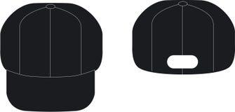 chapeau noir Image stock