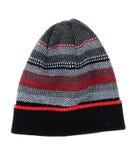 Chapeau rayé de knit Image stock