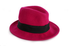 Chapeau rose Photo stock