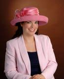 Chapeau rose Photos stock