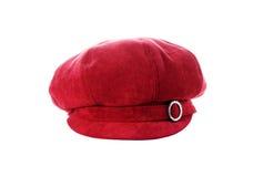 Chapeau rouge Image libre de droits