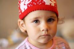 Chapeau rouge Photos stock