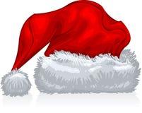 chapeau Santa Image libre de droits