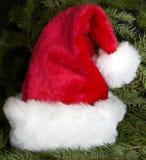 chapeau Santa de Noël Photos libres de droits