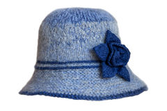 Chapeau tricoté du ` s de femme Photographie stock