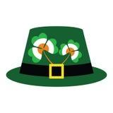 Chapeau vert pour le jour de rue Patrick Photo libre de droits