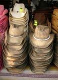 Chapeaux à vendre images stock