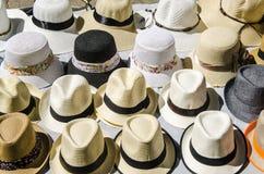 Chapeaux à vendre Photo libre de droits