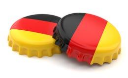 Chapeaux allemands Image stock