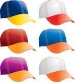 chapeaux collégiaux Photos libres de droits