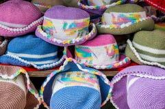 Chapeaux colorés images libres de droits