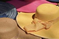 Chapeaux d'été Images libres de droits