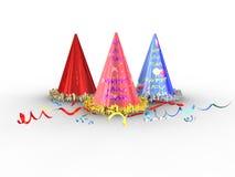 Chapeaux de cône Image libre de droits