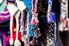 Chapeaux de laine Photos libres de droits