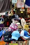 Chapeaux de nouveauté de Paris Photographie stock libre de droits