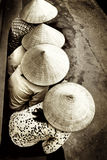 Chapeaux de paille Photo libre de droits
