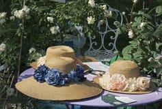 Chapeaux de soleil Photos libres de droits