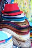 Chapeaux de soleil Photographie stock libre de droits