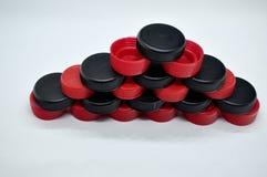 chapeaux en plastique Image libre de droits