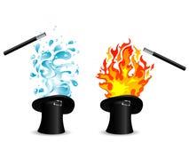 Chapeaux magiques Images stock