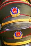 Chapeaux militaires Images libres de droits