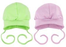 Chapeaux pour des bébés Images stock