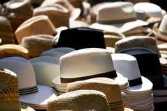 Chapeaux un marqué Photos stock