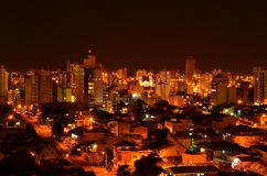 Chapeco,巴西城市 免版税库存照片