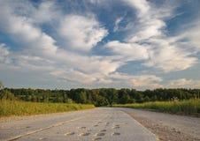 Chapeia a estrada Imagens de Stock Royalty Free