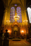 chapel贵妇人・ du pilier的notre 图库摄影