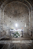 Chapel. Altar of a village chapel royalty free stock photography