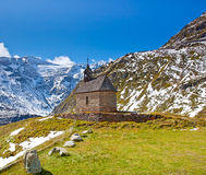 Chapel. Between the mountains from Austria Stock Images