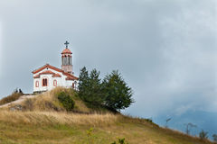 Chapel. Small chapel on the hill in Bulgaria Royalty Free Stock Photography
