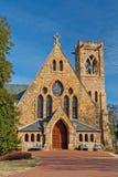 Chapel. University of Virginia Chapel in Charlottesville, VA Royalty Free Stock Images