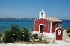 Chapel. On Spetses island royalty free stock image