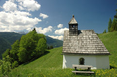 Chapel. Little church in north italy Stock Photos
