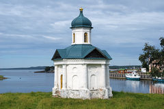 Chapel of Alexander Nevsky in Solovetsky monastery Stock Photography