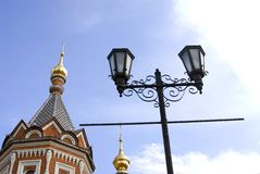 Chapel of Alexander Nevsky in Yaroslavl, Russia. Stock Photography