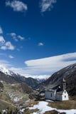 Chapel at the Alp Islitzer, East Tyrol, Austria Stock Photography